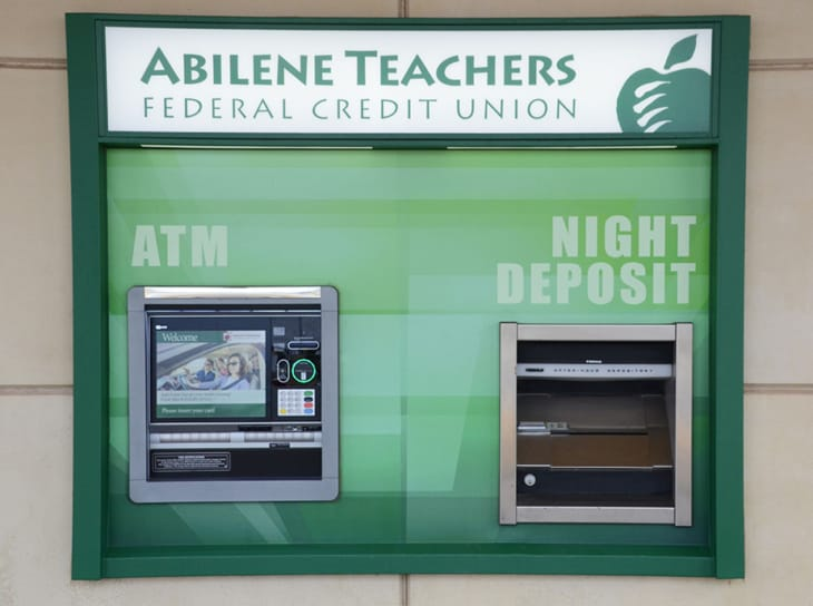 ATM and Night Deposit