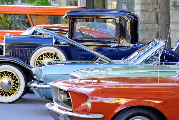 4 classic cars