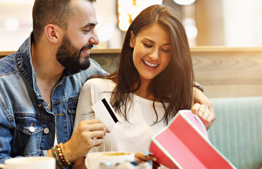 giving gift card to spouse
