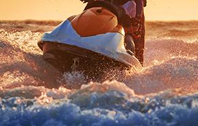 waverunner on water